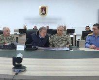 ABD'li askerler Harekat Merkezi için Türkiye'de