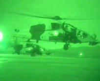 4 PKK'lı terörist helikopterle öldürüldü