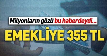 Emekliye 355 TL | İntibak Meclis'e gelirse emeklinin yüzü gülecek...