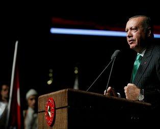 Son dakika: Başkan Erdoğan, Gaziler Günü Töreninde konuştu