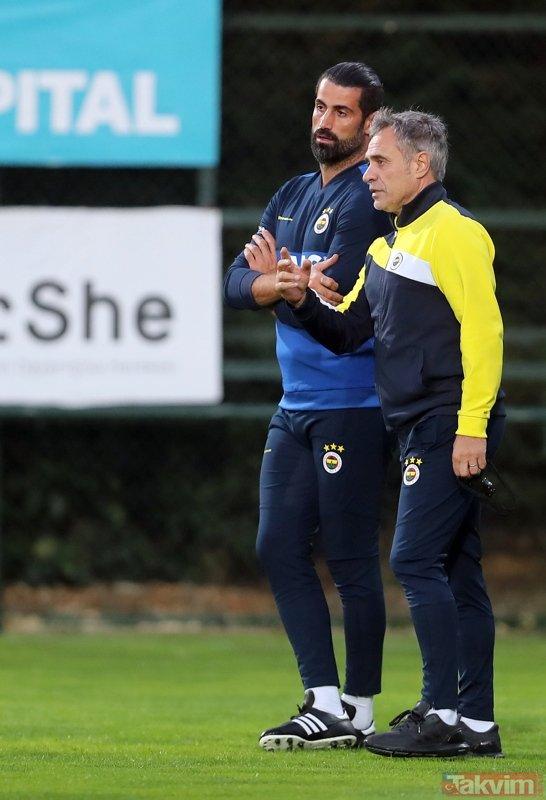 Ersun Yanal´dan Galatasaray maçına özel 11! Fenerbahçe derbiye...