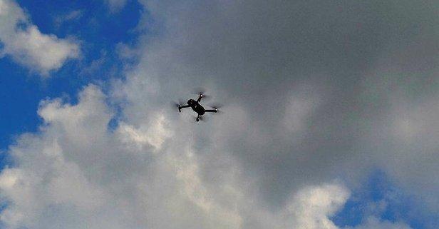 Kaçak yapılara 'drone'lu tespit