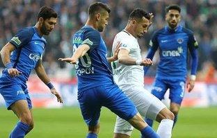 Gol düellosunda kazanan Konyaspor!