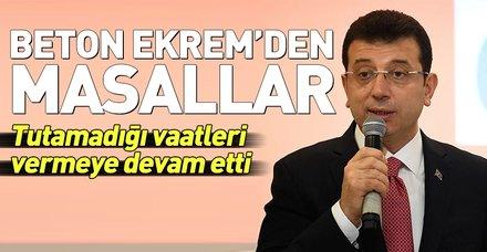 CHP'nin İstanbul adayı Ekrem İmamoğlu tutmadığı sözlerini yine sıraladı