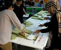 İşte ülke ülke yurt dışı seçim sonuçları