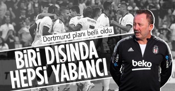 Yalçın'dan Borussia Dortmund maçı öncesi 11 açıklaması