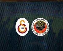 Galatasaray Gençlerbirliği'ne 6 attı