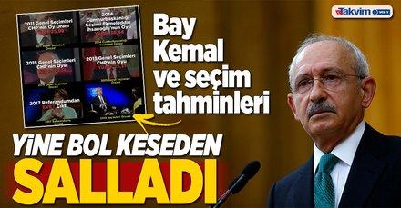 Kılıçdaroğlu yine bol keseden salladı