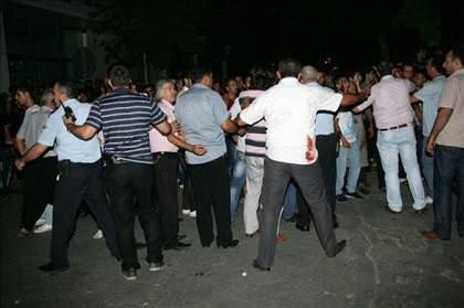 Gaziantepte karakola bombalı saldırı