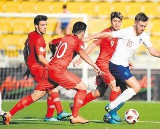 U-19 Milli Takımımız İngiltere'ye kaybetti