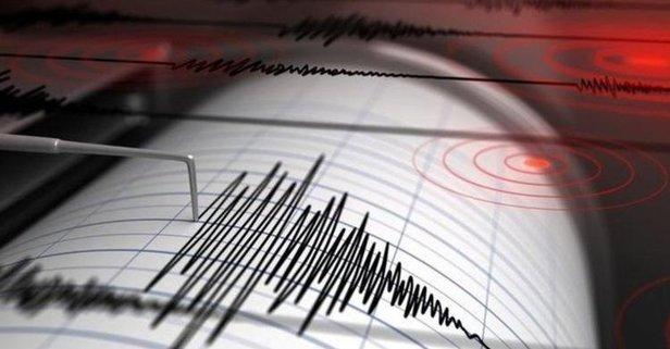 Kütahya'da korkutan deprem!
