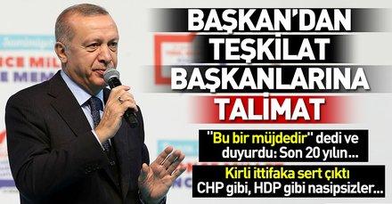Son dakika: Başkan Erdoğan Kocaeli ilçe başkan adaylarını açıkladı