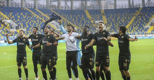 Yeni Malatyaspor Ankara deplasmanında coştu!