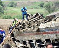 Tekirdağ'daki tren kazasının nedeni belli oldu!