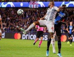 Club Brugge - Galatasaray maçına damga vuran an! Diagne penaltı...