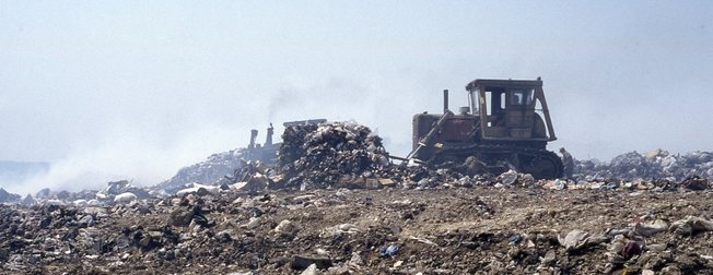Bir CHP klasiği: Çöp dağları!