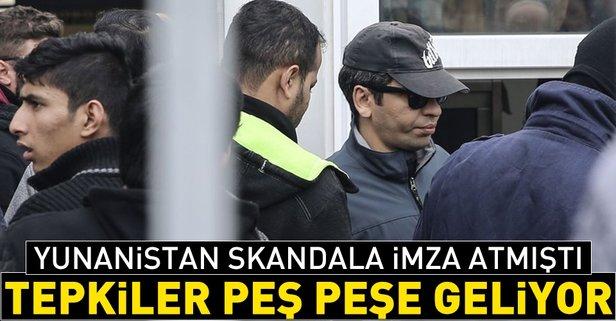 Yunanistanın skandal kararına peş peşe tepkiler
