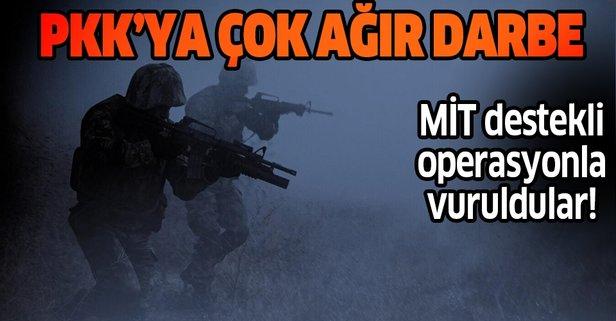 2'si üst düzey 6 PKK/YPG'li etkisiz hale getirildi