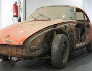 Unutulmaz kasa Porsche 911'i bakın ne hale geldi