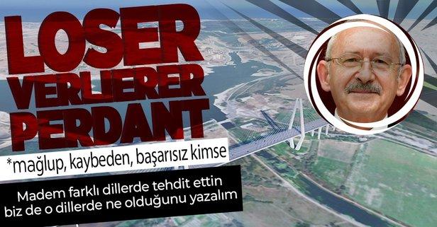 Kılıçdaroğlu'ndan 4 dilde Kanal İstanbul tehdidi