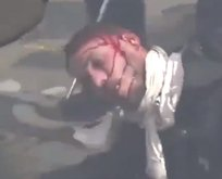 Fransa'da bir eylemci polisler tarafından dövüldü