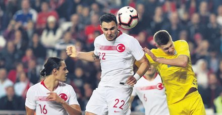 Ne ses var ne görüntü: Türkiye 0 - 0 Ukrayna