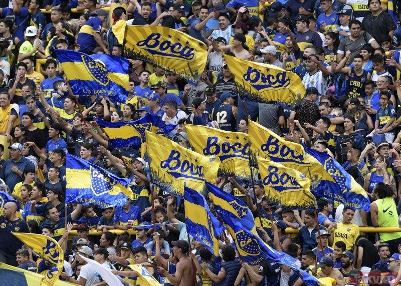Boca Juniors taraftarından takımına inanılmaz destek