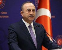 Çavuşoğlu, İranlı mevkidaşıyla görüştü