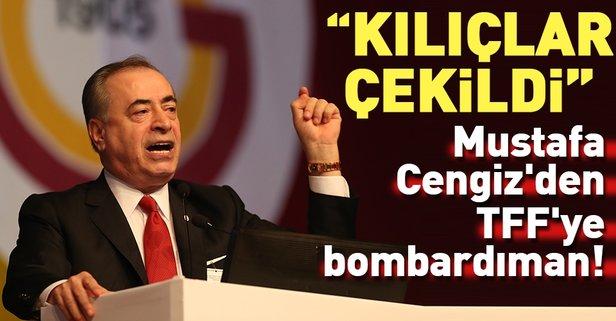 Mustafa Cengizden TFFye tepki