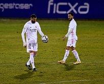 Real Madrid şokta! 3'ncü lig takımına elendi