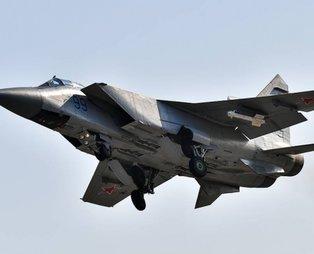 İşte ABD basınını gündemindeki 'Sır uçak' MİG-31'in özellikleri!