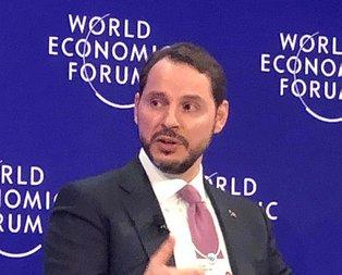 Bakan Albayrak'tan Davos'ta önemli açıklamalar