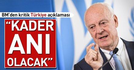 Son dakika: BMden Türkiye açıklaması: Kader anı olacak