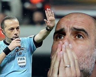 Cüneyt Çakır Guardiola'yı darmadağın etti!