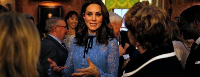 Üçüncü çocuğa hamile Kate Middleton ilk kez ortaya çıktı