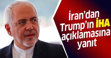 İran'dan Trump'ın İHA açıklamasına yanıt!