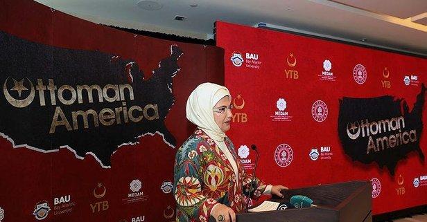 Emine Erdoğan'ın katılımıyla tanıtıldı!