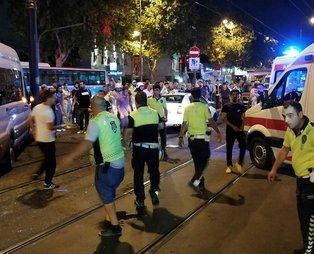 Son dakika: Topkapı Pazartekke'de kaza: 1'i çocuk 7 yaralı