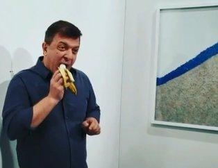 120 bin dolara satılıyordu, sanat eserindeki muzu yedi! Yaptığı eyleme verdiği isimle çok konuşuldu