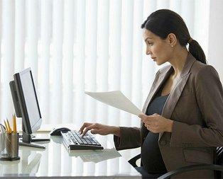 Hamile çalışana özel mesai saati