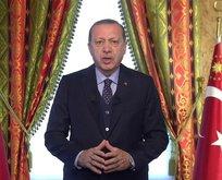 """Erdoğan: """"ABD'nin Kudüs kararını BM'ye taşıyacağız"""""""