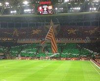 Galatasaray taraftarından derbi hazırlığı