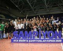 Kadınlar AXA Sigorta Şampiyonlar Kupası sahibi belli oldu