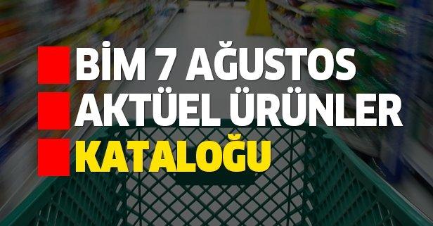 BİM 7 Ağustos aktüel kataloğuyla yeni indirimler kapıda!