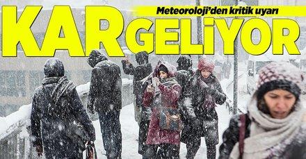 Meteorolojiden kar uyarısı! Kar ne zaman yağacak sorusu cevap buldu! 12 Kasım 2018 hava durumu