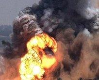 İsrailden uçakları Gazzeyi vurdu