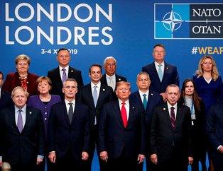 NATO Liderler Zirvesi'nde aile fotoğrafı çekildi!