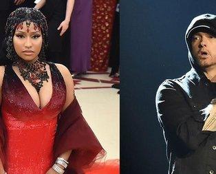 Nicki Minaj ve Eminem sevgili oldu!