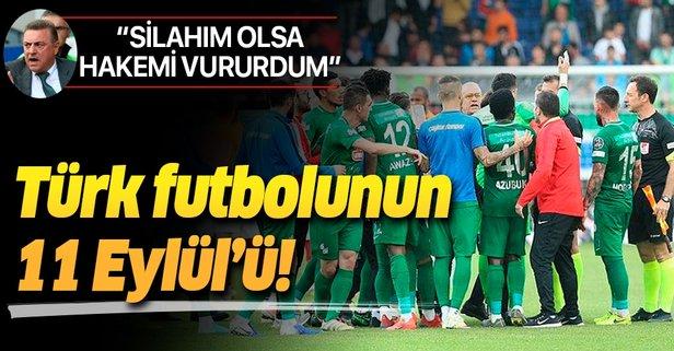 Türk futbolunun 11 Eylül'ü