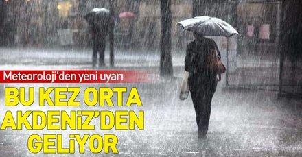 Meteorolojiden hafta sonu uyarısı! Hafta sonu İstanbulda hava nasıl olacak?